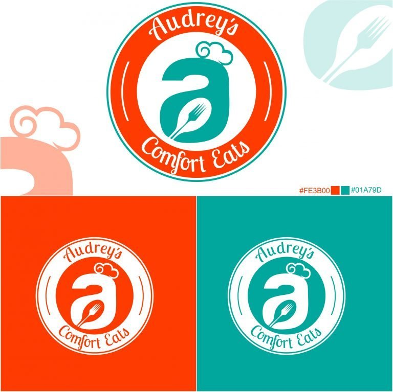 Audrey's Comfort Eat Logo Brand Guide