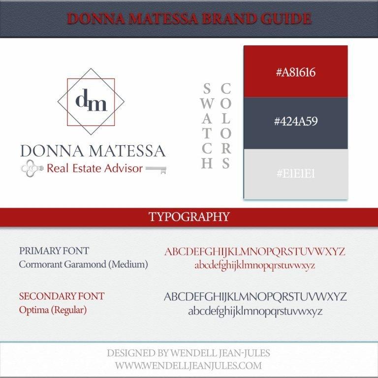 Donna Matessa Brand Guide