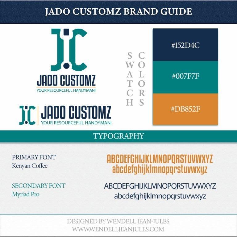 JADO Customz Brand Guide