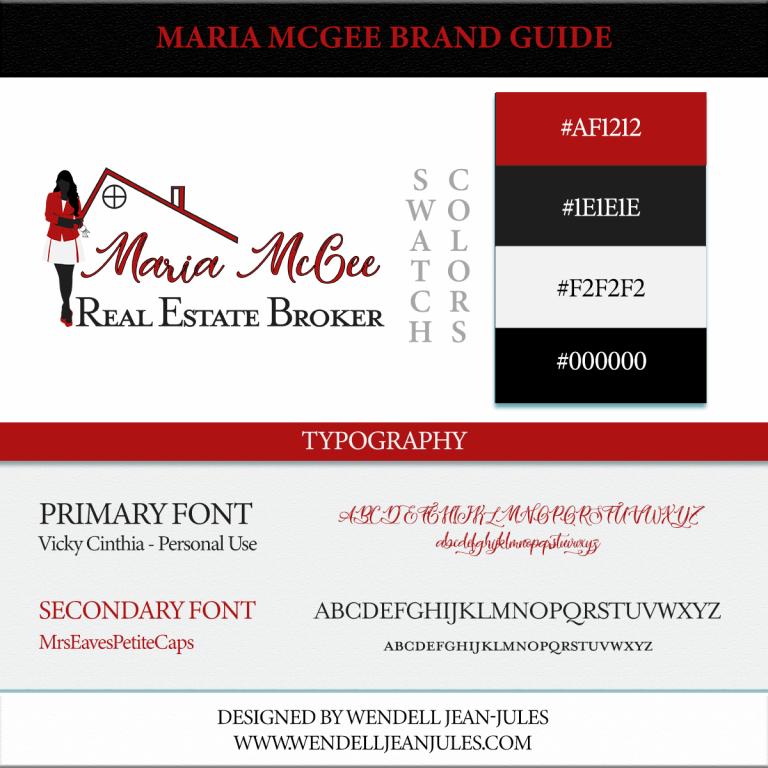 Maria McGee Brand Guide