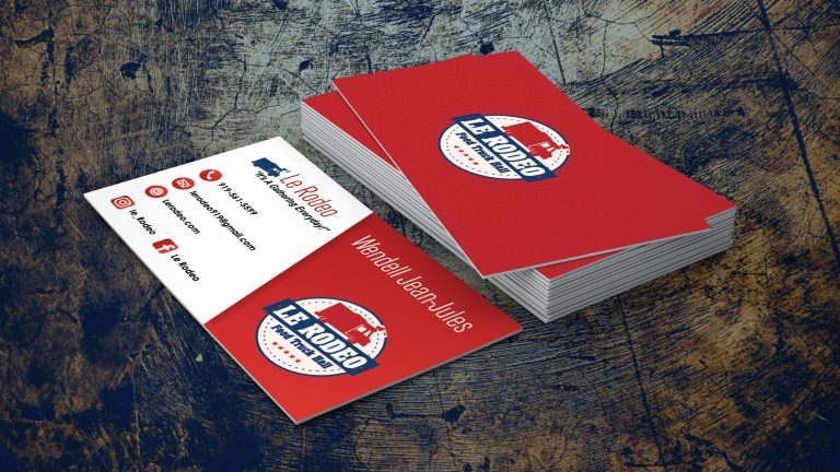 Le Rodeo Business Card